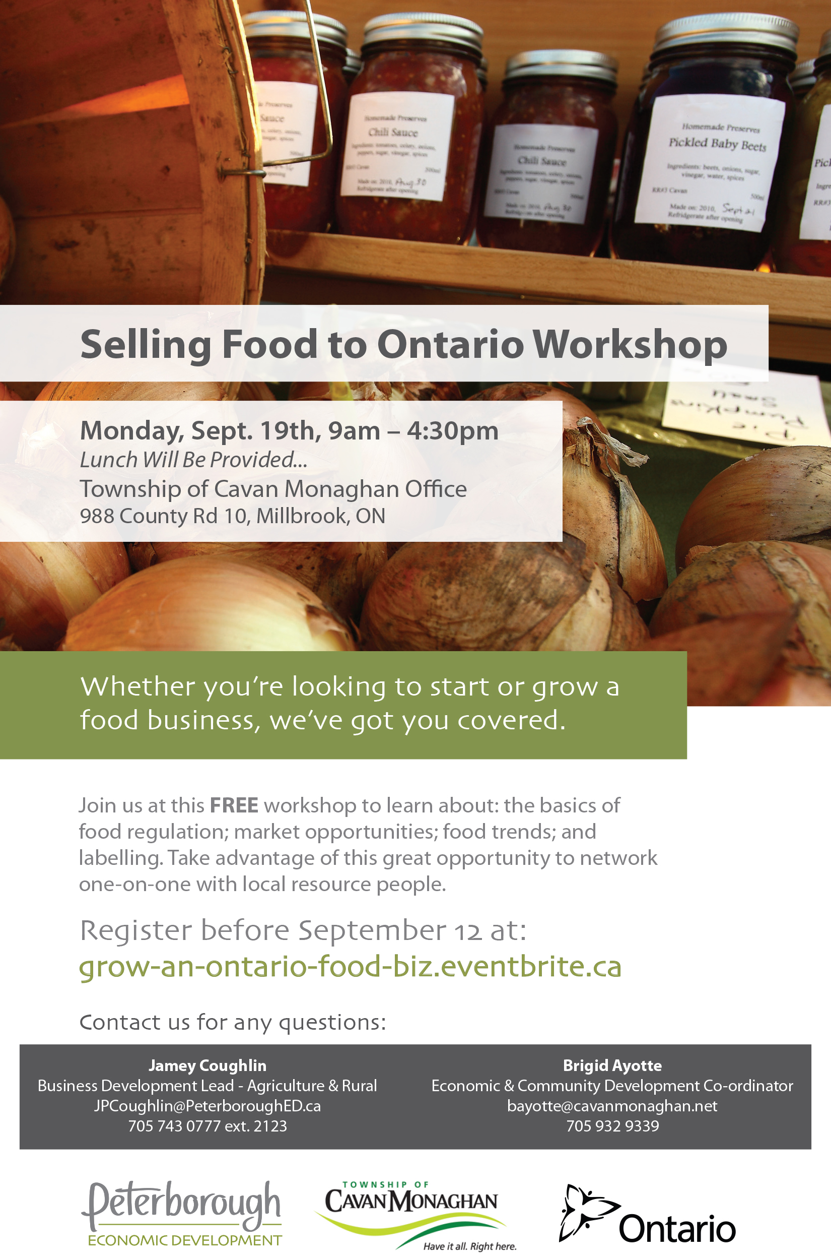 Growing Your Food Business Poster